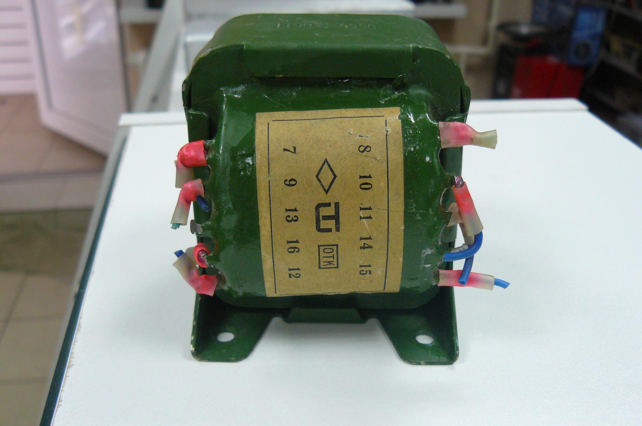 Трансформатор гв 4702 схема